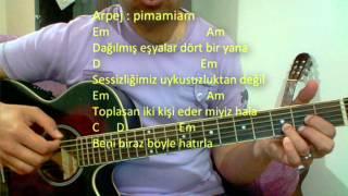 Gitar Dersi - Beni Biraz Böyle Hatırla (Emre Aydın)