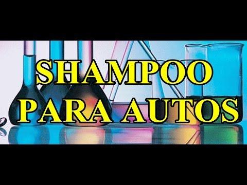 formulas gratis-shampoo para autos