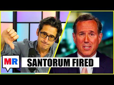 Santorum Whines About CNN Firing On Fox