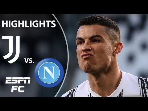 Cristiano Ronaldo & Paulo Dybala lead Juventus to big win vs. Napoli | ESPN FC Serie A Highlights