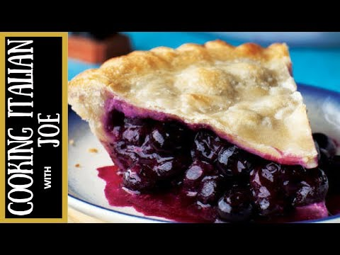World's Best Blueberry Pie Recipe Cooking Italian with Joe