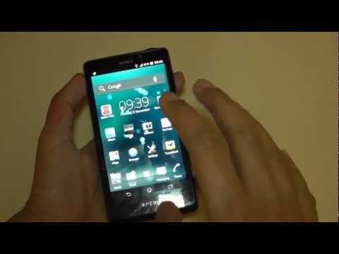 Sony Xperia T Mobile Phone Full Review
