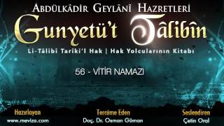 Abdulkadir Geylani Hazretleri - Gunyetü't Talibin - 56- Vitir Namazı