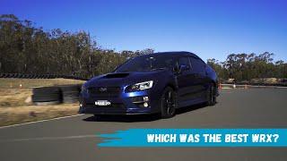 Which was the best Subaru WRX Generation?