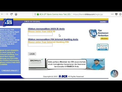 Cara Transfer ke BCA Virtual Account Via KlikBCA Internet Banking