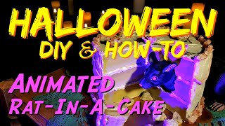 Animated Rat HALLOWEEN Prop & Decoration | DIY Mechanical Animation How-To Video
