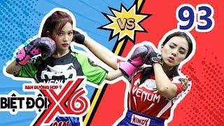 BIỆT ĐỘI X6 | BDX6 #93 | Liêu Hà Trinh 'thụt bida', Sĩ Thanh - Miko Lan Trinh đánh nhau 'sấp mặt' 🏆