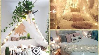 Fairy Lights Bedrooms Decorations Ideas/magical Fairy Lights Bedrooms Decorations Ideas