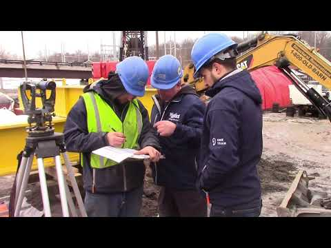 Woodford Bros., Inc. Helical Pile Compression Load Test Mike Woodford explins teh process.