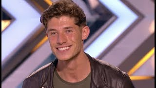 His Girlfriend Applied For Him, Watch What Happens Next! | Audition 1 | The X Factor UK 2017