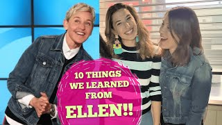 A Conversation with Ellen Degeneres Tour Review - Ten Life Lessons We Learned