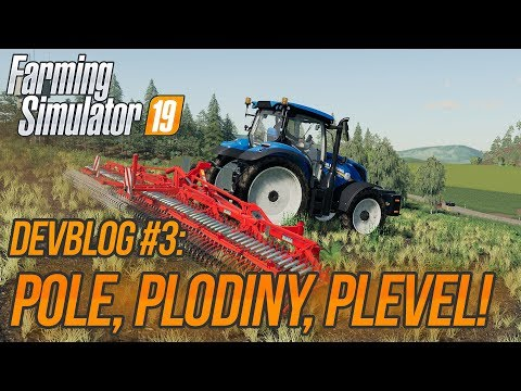 POLE, PLODINY, PLEVEL! | Farming Simulator 19 DevBlog #3