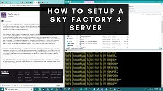sky factory 4 server not working - TH-Clip