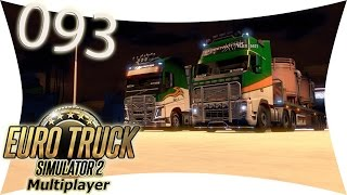 preview picture of video 'LETS PLAY: ETS 2 - MULTIPLAYER: #093 Die 2 von der Tankstelle I Euro Truck Simulator 2'