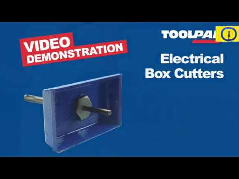 TCT SDS Plus Electricians Square Box Cutter