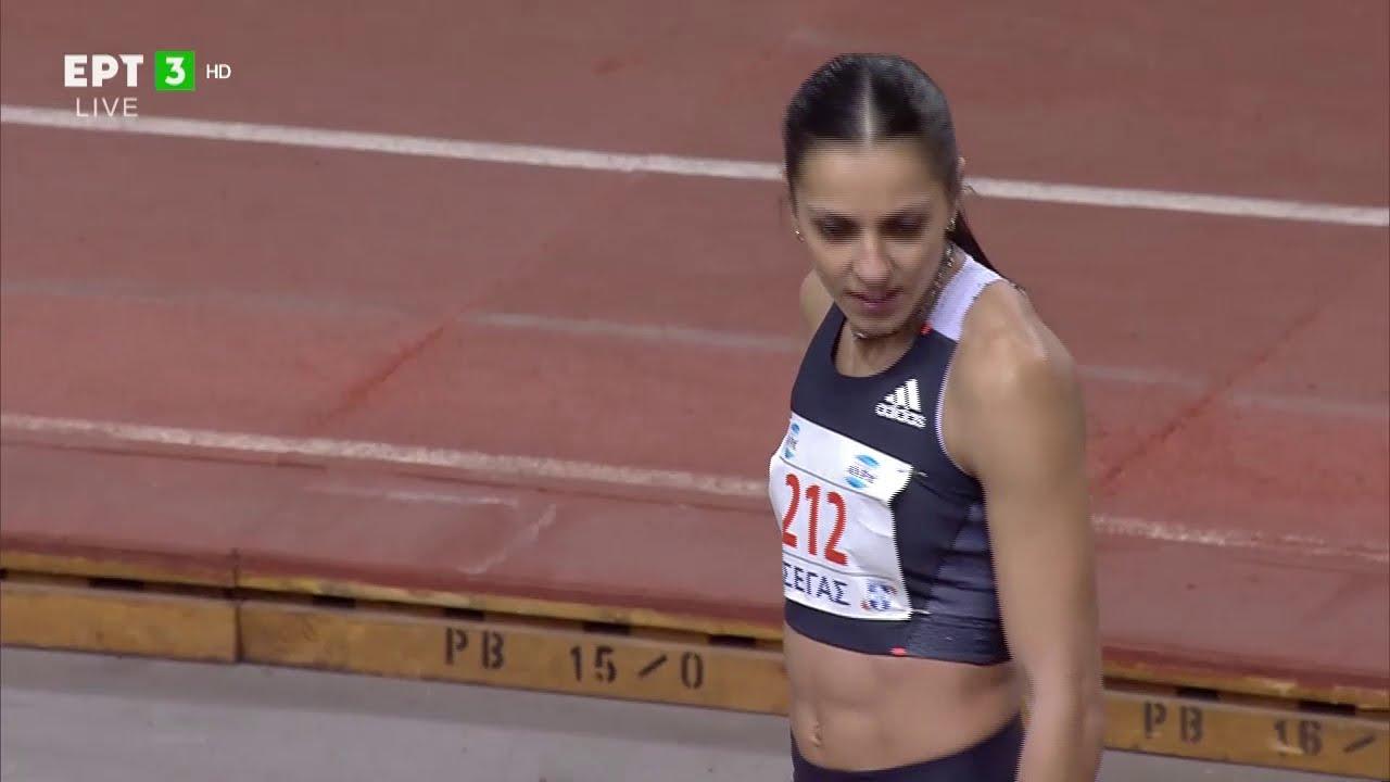 Νικήτρια η Ελ. Πεσιρίδου στα 60 μέτρα μετ'εμποδίων | 13/02/2021 | ΕΡΤ