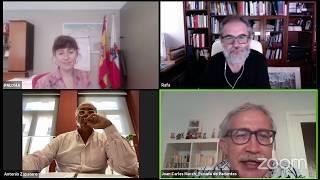 Entrevista Rafa Cofiño, Paloma Navas y Antonio Zapatero