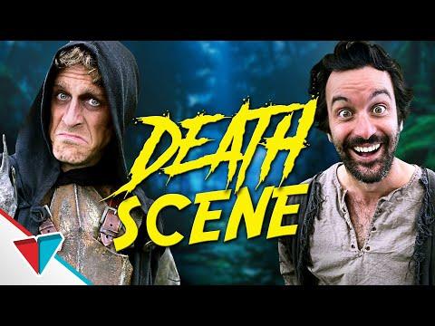 Scéna s umíráním