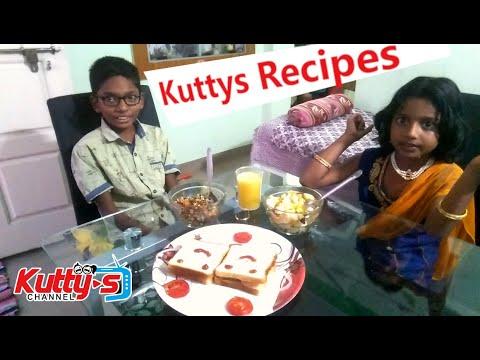 Kuttys Easy Recipes Tamil kids vlog | Kuttys Channel Tamil Pasanga Food Vlog