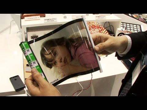 Fujifilm Will Let You Roll Up Your Home Stereo Like A Newspaper