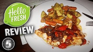 """HelloFresh REVIEW ... and $40 off with Coupon Code """"JONATH38"""""""