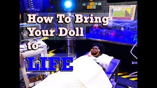 How to bring your Barbie doll to LIFE --- Plus DIY Body Repaint