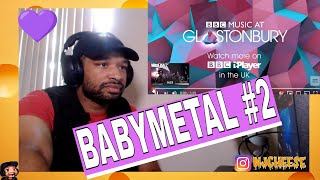BABYMETAL   PA PA YA!! REACTION VIDEO BY NJCHEESE (Glastonbury 2019)