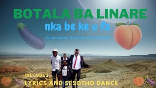 🍆 🍑 🍆  Nka be ke u fa(full song with Lyrics) by Botala ba Linare| Dance