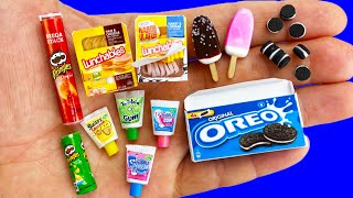 16 DIY MINIATURE FOOD AND SWEETS HACKS AND CRAFTS !!!!