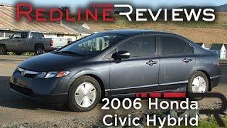 2006 Honda Civic Hybrid Walkaround, Exhaust, Review, Test Drive