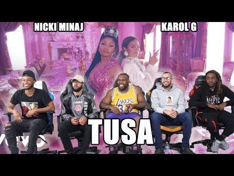 KAROL G, Nicki Minaj - Tusa Music Video Reaction