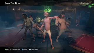SEA OF THIEVES (Start & Character Select) Blues From Down Here, TV ON THE RADIO