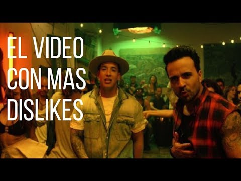 Top 7 Vídeos MUSICALES con mas DISLIKES 2018