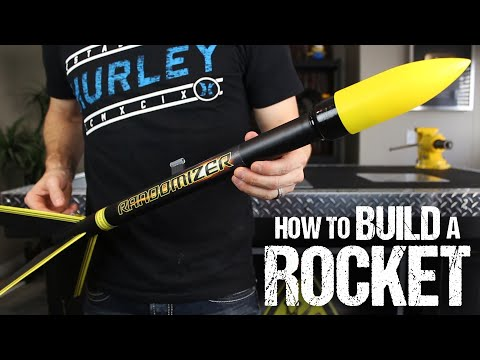 Make A Fully Functional Hobby Rocket Out Of Household Items