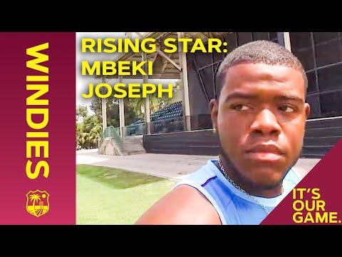 Meet Mbeki Joseph | West Indies Rising Star