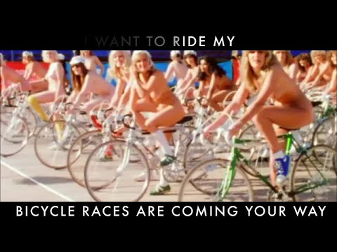 Bicycle Race Lyric Video