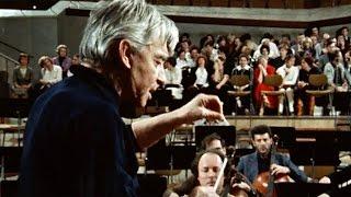 Karajan rehearses Beethoven's 9th Symphony