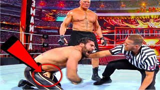 (17 Mistakes) In  WWE Wrestlermania 35 - Plenty Mistakes In