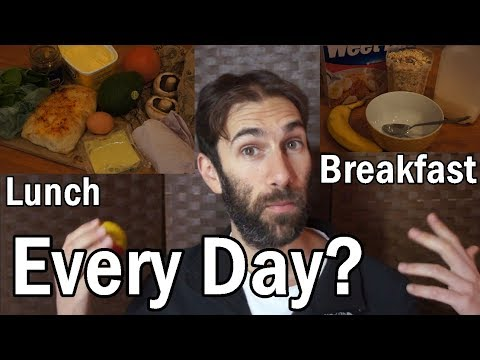 I eat the SAME thing every day!! (My Aspergers Diet)