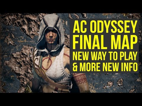 Assassin's Creed Odyssey Map FINAL VERSION, First Arena Info & More! (AC Odyssey Gameplay)