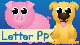 Letter P Song (Learn the Letter P)