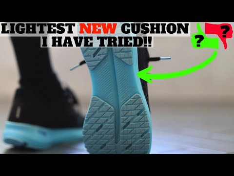 LIGHTEST NEW CUSHION SNEAKER I HAVE TRIED THIS YEAR!