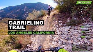 Gabrielino Trail, First-person POV, Raw Uncut