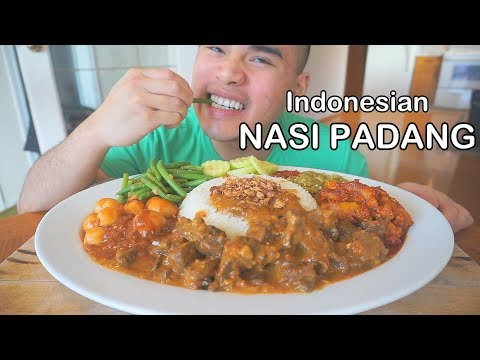 How To Make NASI PADANG | Indonesian Rice Dish