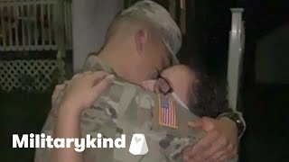 Soldier pulls off late-night homecoming surprise | Militarykind