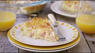 Ham Recipes - How to Make Ham and Cheese Breakfast Quiche