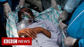 India's hospitals buckle under record Covid surge – BBC News