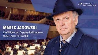 Marek Janowski – Chefdirigent der Dresdner Philharmonie ab 2019/2020