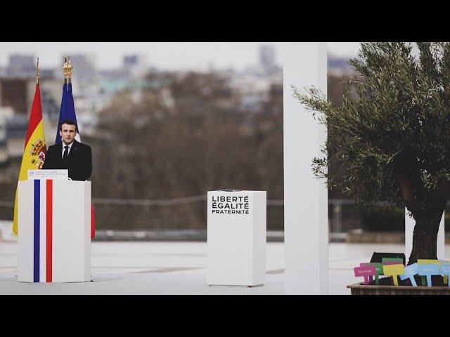 Video de pronunciación de Emmanuel Macron en Francés