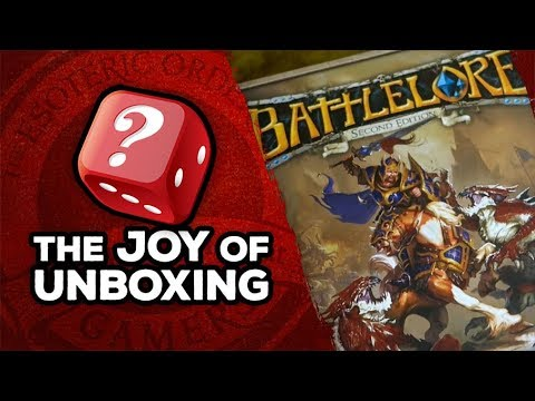 The Joy of Unboxing: BattleLore 2nd Edition